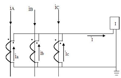 [问答题,简答题] 画出零序电流互感器零序电流接线图.