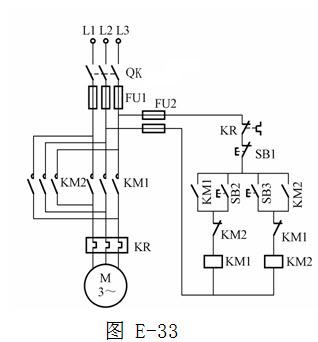 绘图题:画出采用时间继电器控制的串联电阻降压启起电路
