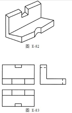 简单机械图纸三视图